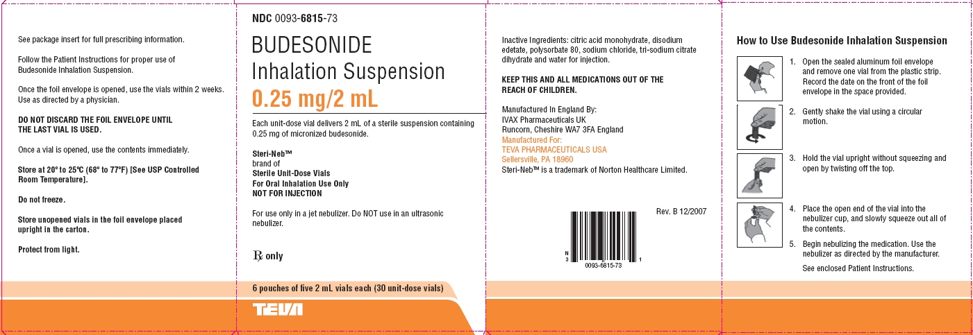 Budesonide By Teva Pharmaceuticals Usa Inc