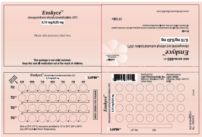 ENSKYCE (by Lupin Pharmaceuticals, Inc )