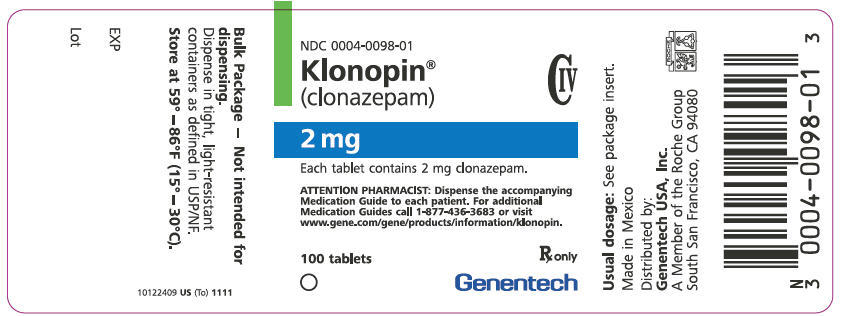 stress klonopin medication