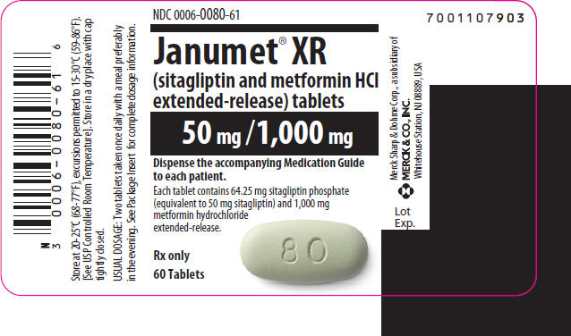 JANUMET (by Merck Sharp & Dohme Corp.)