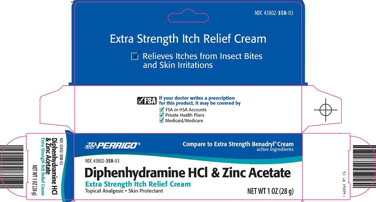 diphenhydramine hcl and zinc acetate (by Perrigo New York Inc)