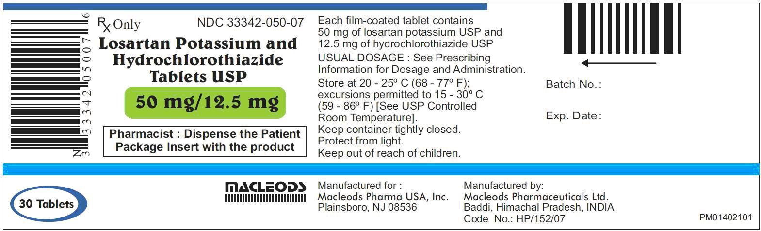 Hydrochlorothiazide price
