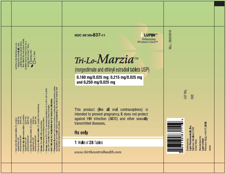 TRI-LO-MARZIA (by Lupin Pharmaceuticals, Inc )