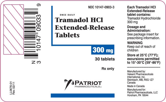 tramadol extended release or regular