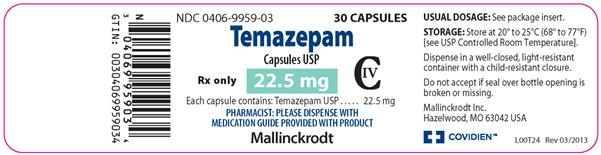 PACKAGE LABEL - PRINCIPAL DISPLAY PANEL - 22.5 mg Bottle