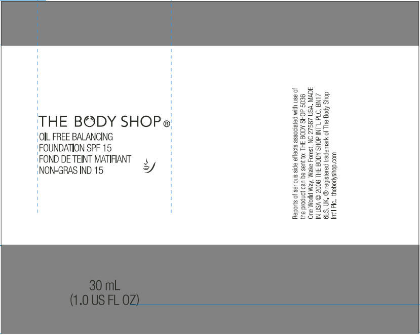 01 Balancing Foundation By The Body Shop Wake Forest