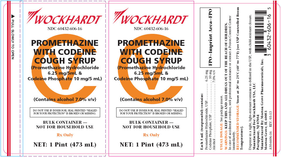 Promethazine With Codeine Cough By Morton Grove Pharmaceuticals Inc