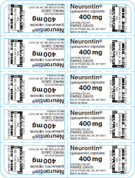 Parke Davis Neurontin Prescription Program