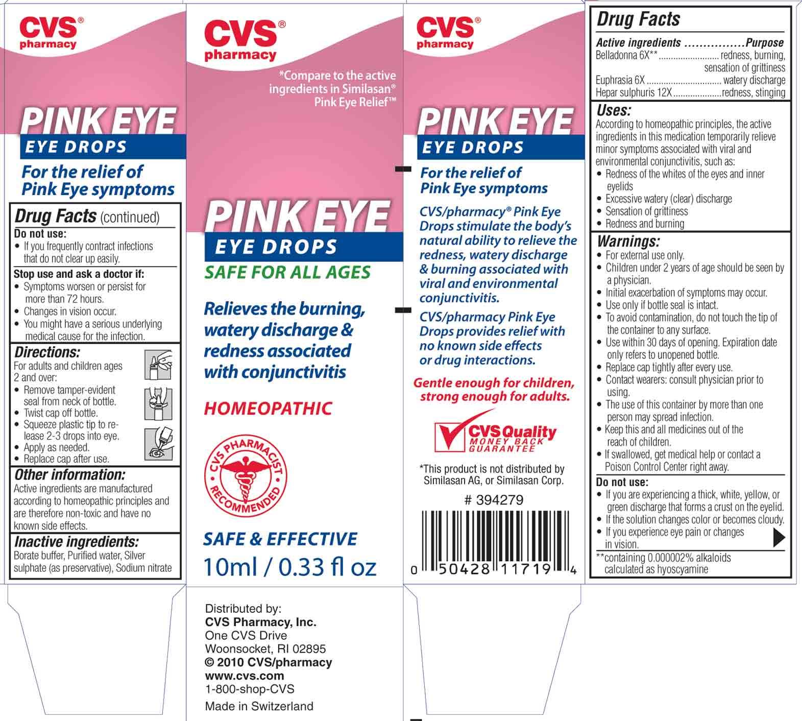 Pink Eye Relief By Woonsocket Prescription Center Cvs