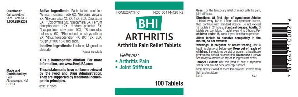 BHI Arthritis (by Heel Inc)