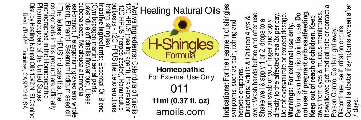 H Rated Shingles H-Shingles Formula