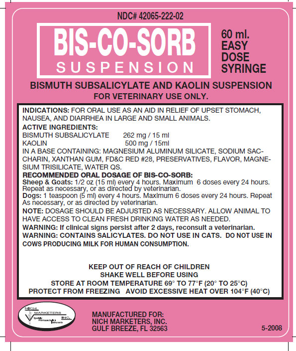 BIS-CO-SORB Suspension 60ml (42065-222-02)