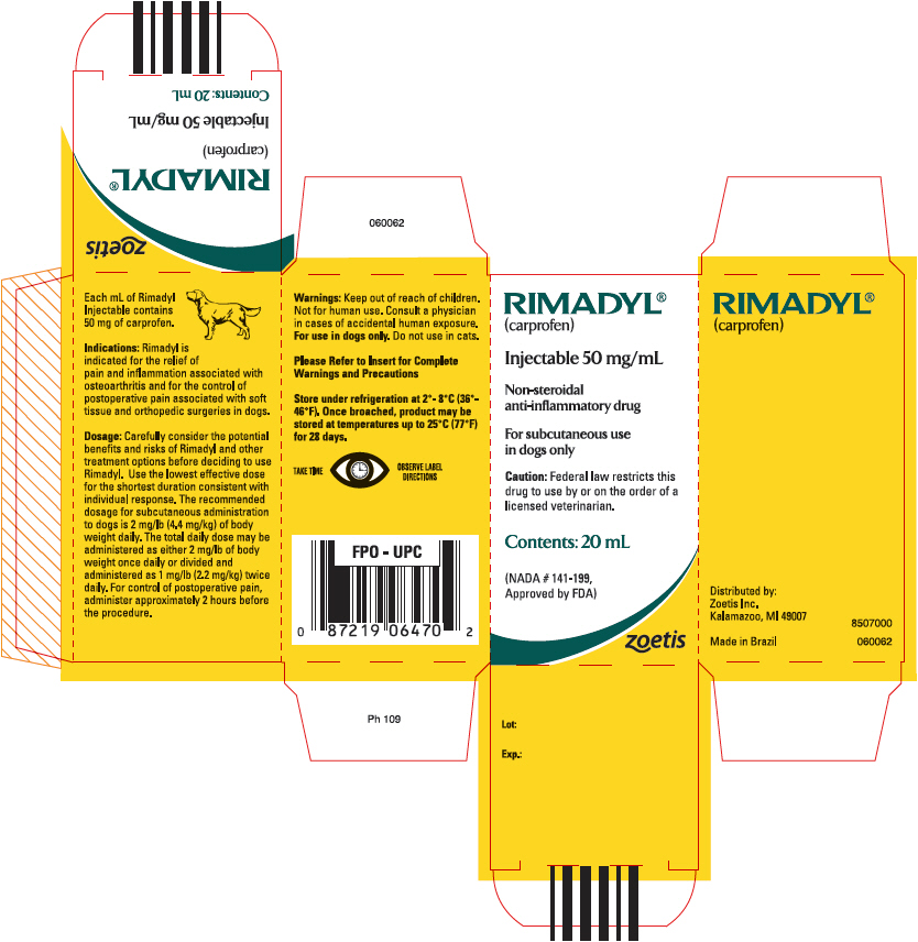 PRINCIPAL DISPLAY PANEL - 20 mL Vial Carton