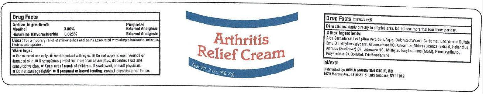 Arthritis Relief Cream 2oz/56.7g (65121-431-21)