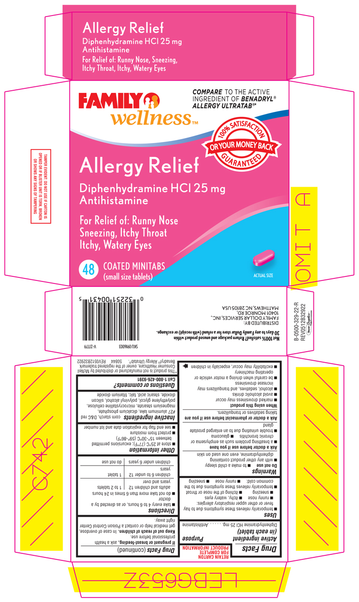 Allergy Relief (by Family Dollar)