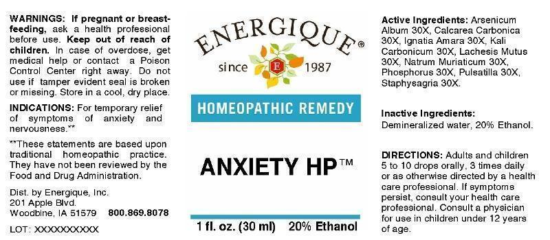 Anxiety (by Energique, Inc )