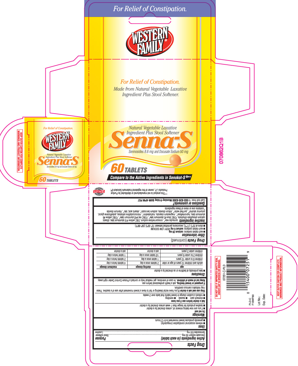 Senna S By Western Family Foods Inc