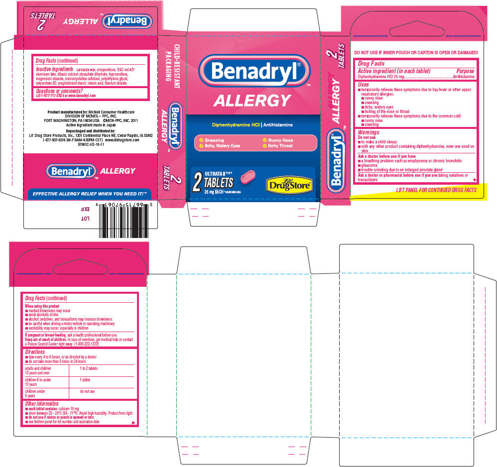 Benadryl By Lil Drug Store Products Inc