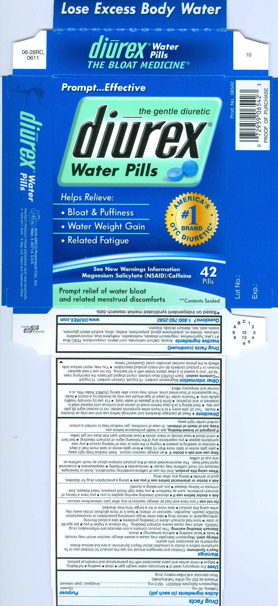 Diurex Water Capsules Water Ionizer