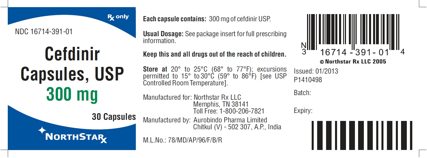 PACKAGE LABEL-PRINCIPAL DISPLAY PANEL - 300 mg (30 Capsule Bottle)