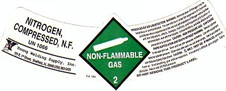 NITROGEN COMPRESSED NF LABEL