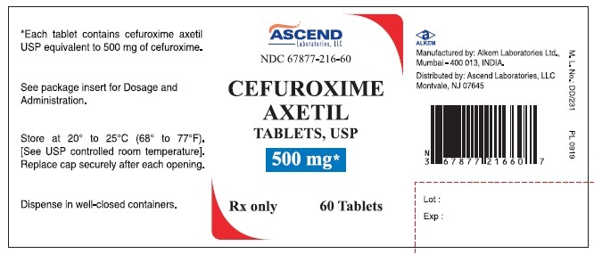 cefuroxime axetil (by ascend laboratories, llc), Skeleton