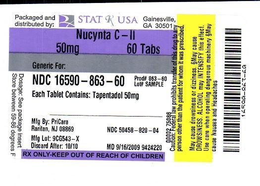 Nucynta 50 mg